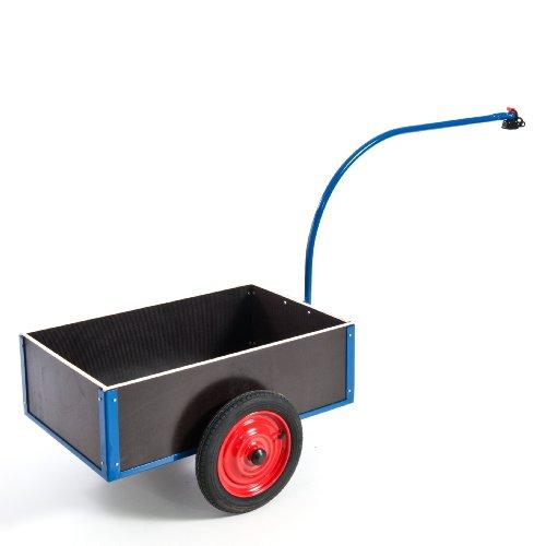 Rollcart 14-1180 Leichter Fahrradanhänger, RAL5010 enzianblau