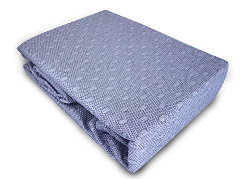 Primo Line Tagesdecke 220x240 cm Lila Bettüberwurf aus Baumwolle & Polyester - Dessinwahl - Ref. 172