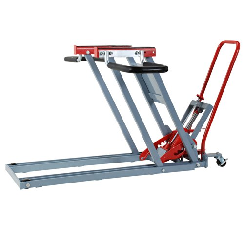 Pro-LifT T-5500 Lawn Mower Jack Lift with 500 Lbs Weight Capacity Wheel Bracket for Tractors and Zero Turn Lawn Mowers