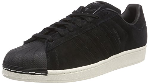 adidas Men's Superstar Sneakers Black Size: 5.5 UK