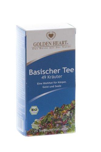 Basischer Tee 49 Kräuter BIO im Filterbeutel 25 St.