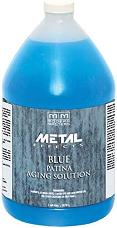 Ranking TOP6 MODERN MASTERS PA902 1 Gallon Patina Blue Aging OFFicial mail order Solution