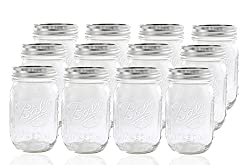 pint canning jars with lids