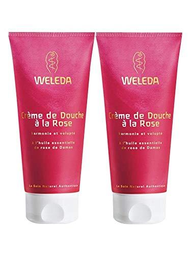 Weleda Duo crèmes de douche à la Rose Musquée 400ml