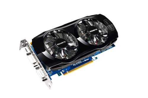 GigaByte NVIDIA GeForce GTX560 OC Grafikkarte (PCI-e. 1GB GDDR5 Speicher, Mini HDMI, 2X DVI)