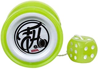 Duncan Freehand Yo Yo With Counterweight Lime Green and White