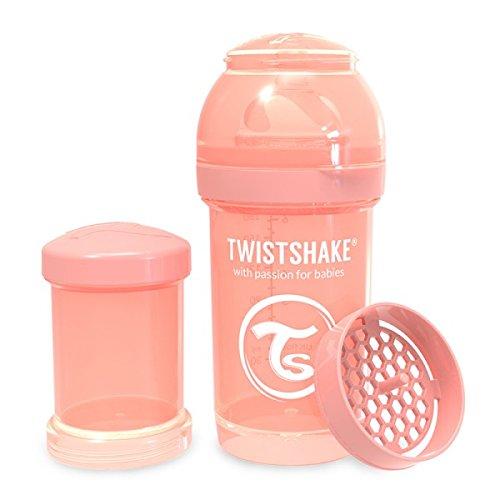 Twistshake 78312 - Biberón, color pastel coral