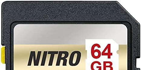 Strontium Nitro 32GB SD SDHC Flash Memory Card 95MB//s UHS-I U1 V10 Class 10 High Speed for DSLR Mirrorless Cameras SRN32GSDU1QR