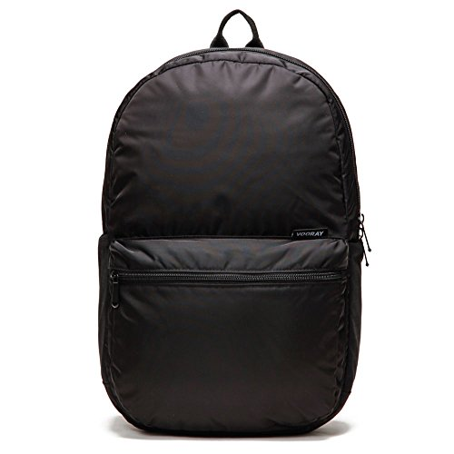 Vooray ACE Backpack - Classic backpack/School Rucksack (Black Nylon) - Discontinued Model