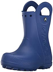 crocs Unisex - Kinder Handle It Rain Boot Gummistiefel, Blau (Cerulean Blue 4O5), 22/23 EU