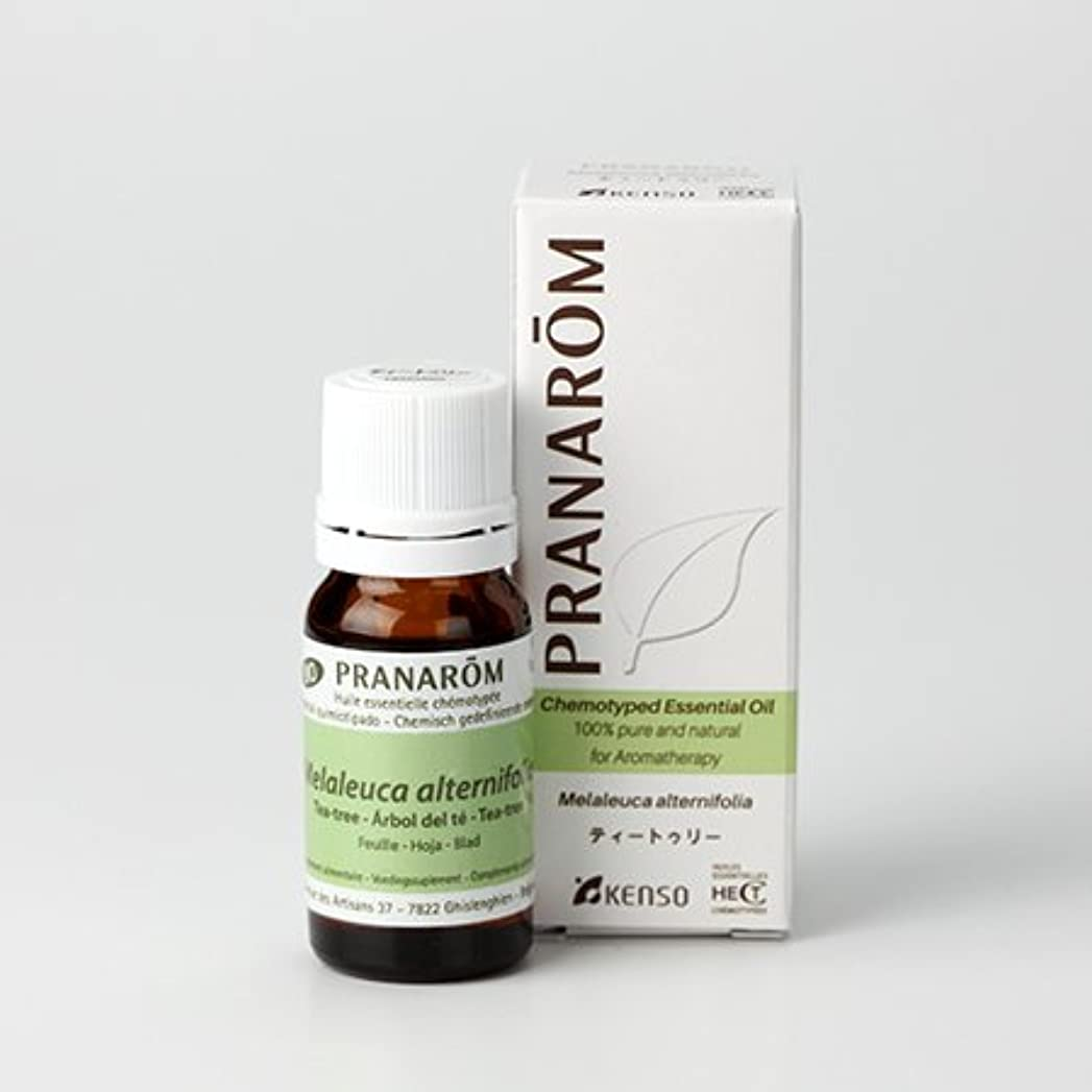 怠惰高さトラフィックプラナロム精油(P-109 ティートゥリー?10ml)