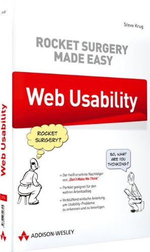 Web Usability: Rocket Surgery Made Easy (Sonstige Bücher AW)