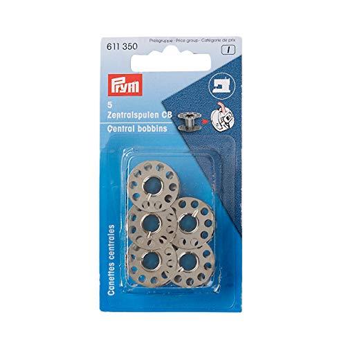 Prym 611350 Nähmaschinenspulen, Stahl, CB-Greifer, 20,5mm, Silber, 20,5 mm