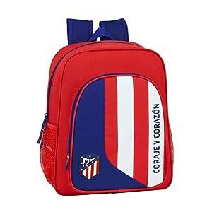 41ok9R3i GL. SS300  - Safta 612045640 Mochila Junior niño Adaptable Carro Atlético de Madrid