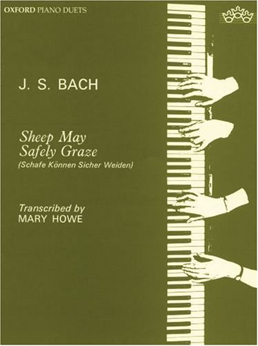 Bach, J: Sheep May Safely Graze: Sheep may safely graze: Paperback