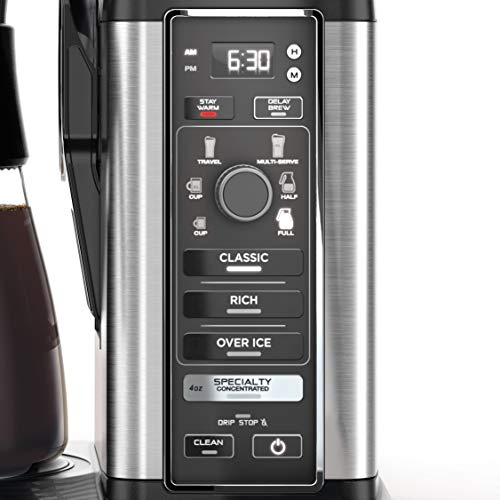 Product Image 3: Ninja Specialty Coffee Maker, with 50 Oz Glass Carafe, Black and Stainless Steel Finish