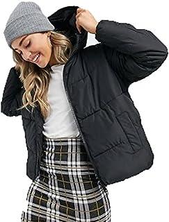 Zip Up Bomber Jacket For Women