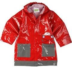 Western Chief Toddler/Little Kid Automo-Billy Rain Jacket,Medium Red,6-6X Little Kid