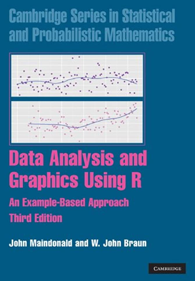 浸す止まる一般的に言えばData Analysis and Graphics Using R: An Example-Based Approach (Cambridge Series in Statistical and Probabilistic Mathematics Book 10) (English Edition)