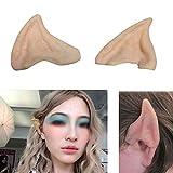 1 PairParty Zubehör Latex SoftElf Ears Wizard Elf-Fee Hobbit Vulcan Alien-Kostüm-Ohren-Partei-Schablonen