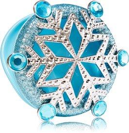 Bath & Body Works Blue Snowflake Scentportable Visor Clip