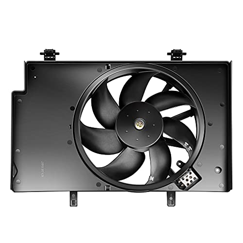 SCITOO Condenser Radiator Cooling Fan Assembly FO3115186 Compatible with 2011...