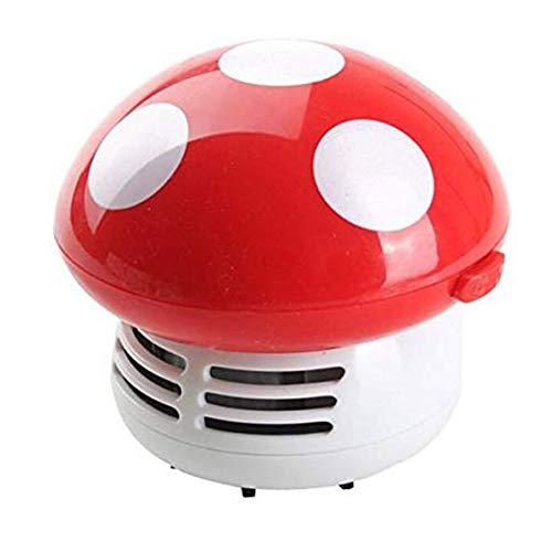 Aspiradora de hongos pequeña pequeña barredora de polvo práctico limpiador de esquinas, colector de polvo para computadora