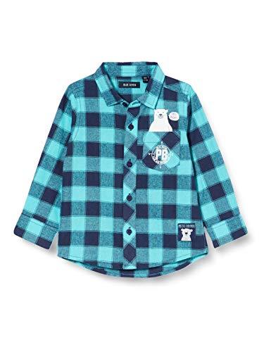 Blue Seven Jungen Knaben Karohemd Hemd, 618 SEA Orig, 12-18 Months