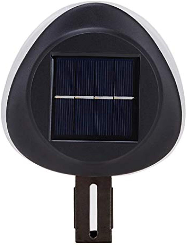 LED Solarlicht, Sicherheit Wasserdicht Scheinwerfer Notfall Bewegung Sensor Induktionslampe Taschenlampe Intelligent Türffnung Terrasse (Farbe   Weies Licht)