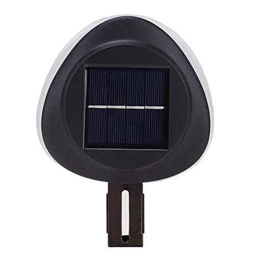 YI-LIGHT Luz Solar Led,La Seguridad Impermeable Luz De Inundación Adecuado para Al Aire Libre Emergencia Inducción Lámpara Pared Rural Utilizar Paneles Solares (Color : Luz Blanca)