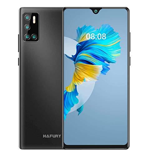 HAFURY G20 4G Smartphone 6.2 Pollici HD 128GB ROM 4GB RAM Cellulare Telefoni Batteria 4200 Android 10 Quad Fotocamera Supporto NFC Face ID Dual SIM Nero