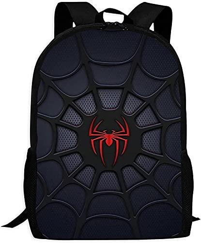 Spider-Man - Zaino per la scuola, per bambini, motivo anime, ultraleggero, impermeabile, alta capacità, regolabile, alla moda (Spider-Man 11,13 pollici)