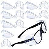 Glasses Side Shields Slip on Side Shields for Safety Glasses Fits Medium to Large Eyeglasses 6 Pairs
