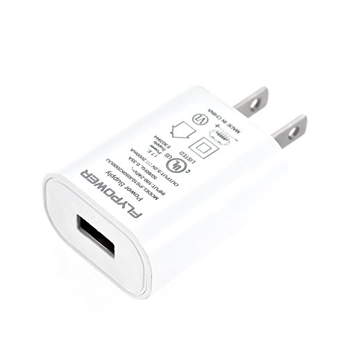 OWSOO Adaptador de carregador universal 5V 2A US Plug Carregador de parede USB Carregamento rápido para iPhone 6S 6 Plus iPad Mini SAMSUNG S6 Edge HTC