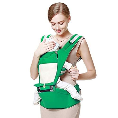 SCJ Portabebés portabebés Portabebés para recién Nacidos, Ajustable Agregar Abrigo Ergonómico Lactancia Materna Taburete de Cintura para bebé QI-223