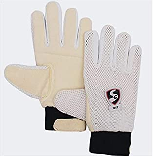 SG Test Cricket Inner Wicket Keeping Gloves | Made from Highly Absorbent fine Cotton Material