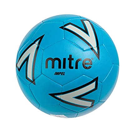 Mitre Impel Training Football - Blue/Silver/Black, 3