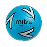 Mitre Impel Training Football - Blue/Silver/Black, 3