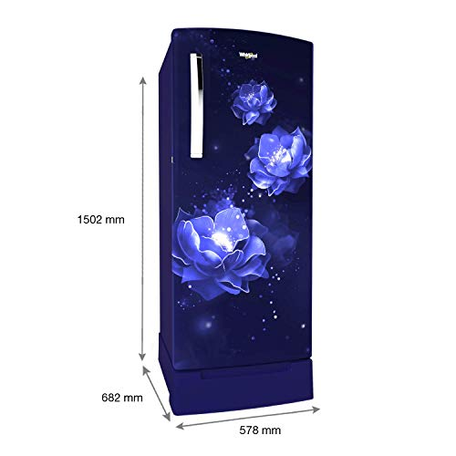 Whirlpool 215 L 5 Star Inverter Direct-Cool Single Door Refrigerator (230 IMPRO ROY 5S INV SAPPHIRE ABYSS, Sapphire Abyss) 3