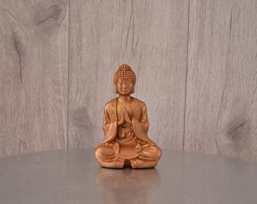Kleine Buddha-Figur, Gold