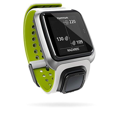 TOMTOM Golfer - Reloj para Golf con GPS, Color Blanco y Verde Claro