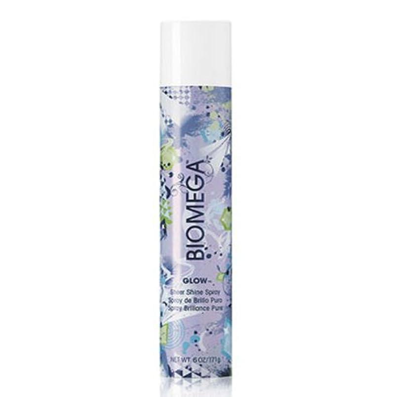 種排除無臭Aquage がbiomegaグローシアーシャインスプレー、6オズ。 6オンス
