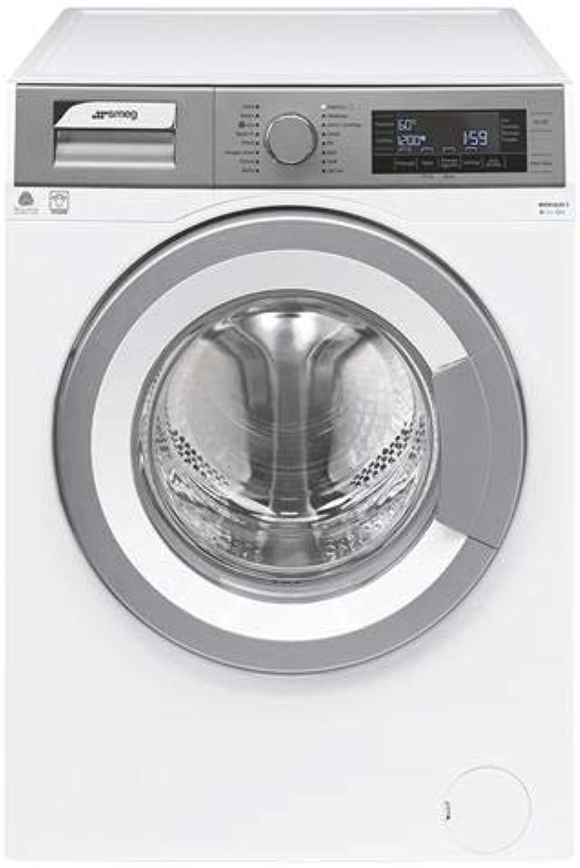soporte minorista mayorista Smeg WHT814LSIT-1 Independiente Carga frontal 8kg 1400RPM A+++ A+++ A+++ gris, Color blancoo - Lavadora (Independiente, Carga frontal, gris, blancoo, Giratorio, Tocar, Izquierda, LCD)  hasta un 65% de descuento