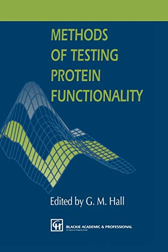 Methods of Testing Protein Functionality
