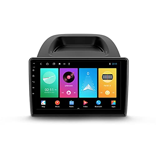 ADMLZQQ Autoradio Coche Bluetooth 2 DIN Android Radio De Coche 10.1'' Pantalla Táctil 5G WiFi Plug and Play Completo RCA SWC Soporte Carautoplay/GPS/Dab+/OBDII para Ford EcoSport 2017-2021,M150s