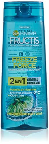 Garnier Freeze Force Champú 2en 1limón verde hombre Cabello/cuero cabelludo 250ml