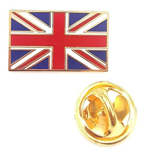 UNION JACK QUALITY ENAMEL LAPEL PIN BADGE by Emblems-Gifts