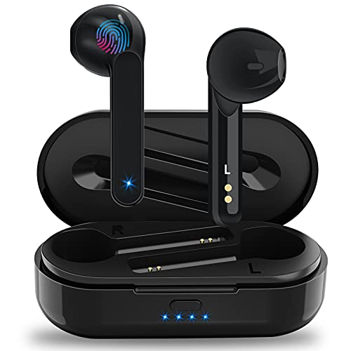 Cuffie Bluetooth 5.1 Soicear Auricolari Wireless Senza Fili in Ear con Impermeabile IPX6,Microfoni Integrati,Hi-Fi...