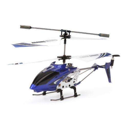Syma S107G 3 Channel RC Helicopter with Gyro, Blue