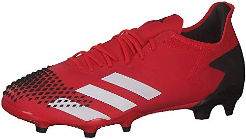 adidas Predator 20.2 FG, Zapatillas Deportivas, Active Red/FTWR White/Core Black, 38 EU